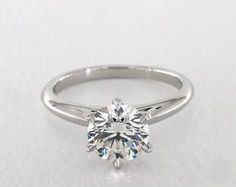 1.5ct Round Solitaire Engagement Ring in 360-HD SuperZoom (Platinum)
