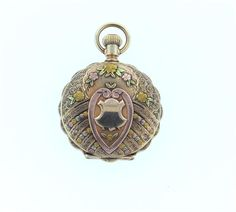 Antique Elgin 14k Four Color Gold Pocket Watch Featured in our upcoming auction on November 2, 2015 11:00AM EST!