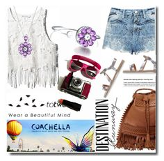 """""""Ready for party Coachella & Totwoo"""" by totwoo ❤ liked on Polyvore featuring Bebe, WearableTech, totwoo, smartjewelry and packforcoachella"""