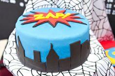 Superhero 5th Birthday Party - Spaceships and Laser Beams