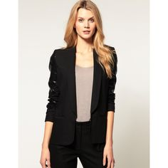 sequin blazer.. and the sequins aren't all over which is kinda nice.. though i'd prefer them on the collar