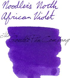 Hi fountain pen friends! Margaret here with my latest ink review on a new purple ink. I love the color purple, so I was excited to