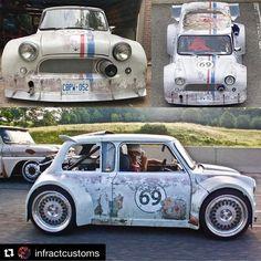 Mini Cooper Classic, Classic Mini, Classic Cars, Custom Hot Wheels, Mini Trucks, Futuristic Cars, Unique Cars, Sweet Cars, Cute Cars