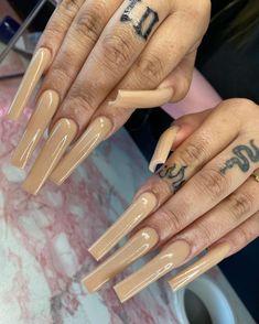 Glow Nails, Aycrlic Nails, Coffin Nails, Cute Nails, Pretty Nails, Hair And Nails, Manicures, Color For Nails, Nail Colors