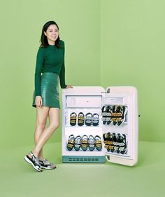 Kong Hyo Jin for Suecomma Bonnie Lee Sun Kyun, Gong Hyo Jin, Korean, Actresses, Actors, Jin Photo, Womens Fashion, Sneakers, Casual