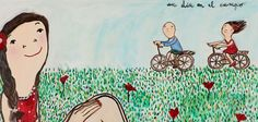 Eva Armisen, Family Love, Art For Kids, Snoopy, Illustration, Poster, Painting, Fictional Characters, Beautiful