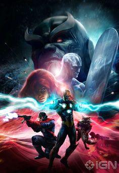 Guardian of galaxy - Nova - Thanos