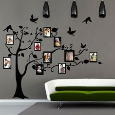 Velvet Family Tree Sticker