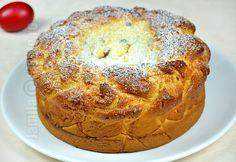 Romanian Food, Easter Recipes, Bagel, Nutella, Banana Bread, Yummy Food, Sweets, Healthy Recipes, Baking
