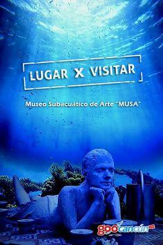 Musa, Arte bajo el Mar Caribe. www.goocancun.com