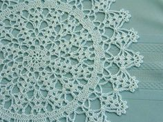 Doll's Tea Time White Doily   Flickr - Photo Sharing!