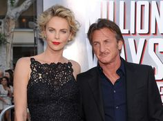 Sean Penn with fiance Charlize Theron