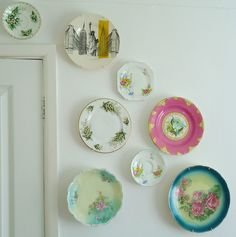 Love old, decorative plates and bowls