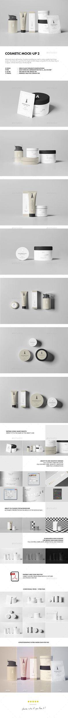 Cosmetic Mock-up #mockup #design Download: http://graphicriver.net/item/cosmetic-mockup-2/11547511?ref=ksioks