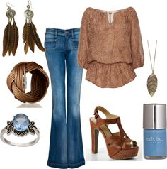 """""""Gorgeous Boho"""" by firefly7522 on Polyvore"""