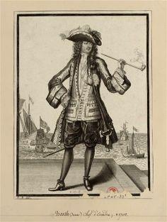 Jean Bart, chef d'escadre des armées navales, commandant la marine à Dunkerque (1650-1702)