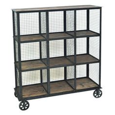 Found It At Wayfair   Industria Metal And Wood Bookcase