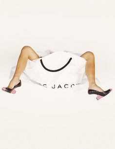 Marc Jacobs campaign - Shot by Juergen Teller and featuring Victoria Beckham