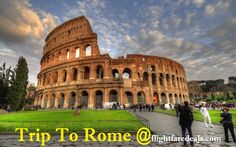 Plan to travel across the world and breathe the air of new place #ROME Book flights Rome, Italy with #flightfaredeals. Save 70% on #ROMETRIP. Call-1800-825-7035 to get the latest airfare. Click-http://www.flightfaredeals.com/flight/cheap-flights-to-rome  #flightstorome #romeflight #flightreservations #romeflightbooking #rometrip #triptorome #traveltorome #lowfareflights Rome