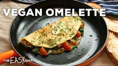 Omelettes that'll have you Om-Nom-Noming for days! PREP TIME: 5 MINS COOKING TIME: 5-6 mins TOTAL TIME: 10 mins STORAGE: Omelette powder mix: months!