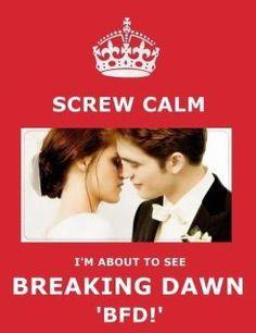 Breaking dawn!!