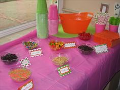 Toppings at an Ice Cream Party #icecream #toppings