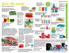 Tupperware, Large Containers, July 10, Shower Gifts, Party, Book, Products, Books, Livres