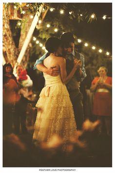 sweet first dance.