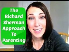 The Richard Sherman Approach To Parenting #GoHawks  #YouTube