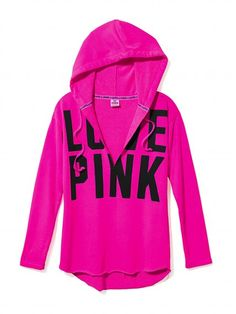 Tunic Hoodie - Victoria's Secret PINK - Victoria's Secret