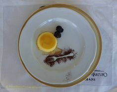 Dessert at Urbani Tartufi, Sant'Anatolia di Narco