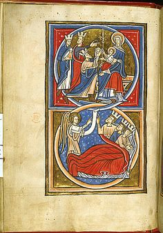 Magi Lansdowne 420 Psalter, with calendar England, S. E. (London?); 1st quarter of the 13th century