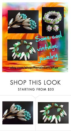 """""""Cool vintage jewelry"""" by renaissance-fair ❤ liked on Polyvore featuring vintage"""