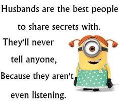 Husbands....