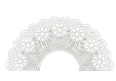 Hg Home Decor, Ideas, Hand Fans, Flower, Bobbin Lace Patterns, Ganchillo, Tulle, Crafts, Embroidery