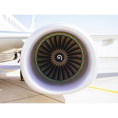 Power! -- regram @adamsenatori #flight #aircraft #engines #twig