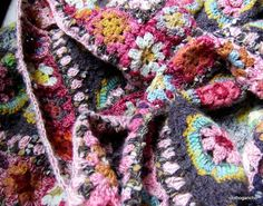 """from clothogancho2 - on one of the comments in a translation """"it will be understood, I do not crochet, I paint. Or rather, I crochet because I do not paint and must survive this lack."""""""
