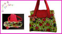 How to sew a Handbag - Step by step Tutorial (Mary Lou Pattern)