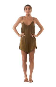 Bay Playsuit Fawn