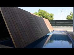 Folding Floor - a folding swimming pool cover by AGOR Creative Engineering