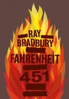 Fahrenheit 451, Ray Bradbury. A sci-fi/fantasy about a fireman who hates his job set in the saddest of dystopian settings: a future with NO BOOKS. It's short and interesting--if you haven't already read it, don't wait any longer!