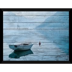 Lake Wonders Giclee Wood Wall Decor - Free Shipping Today - Overstock.com - 18617682 - Mobile