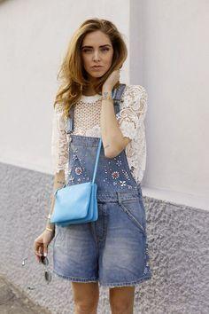 今話題のブロガー!キアラ・フェラーニはこう着こなす♡上品に着こなすレーストップスのコーデ♡参考にしたいスタイル・ファッション♡