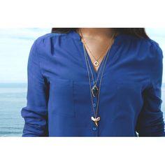 necklace and ring layer looks by koshikira