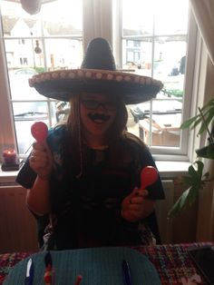 Mexican theme party. Sombreros. Sugar skulls. Flowers. Mustaches