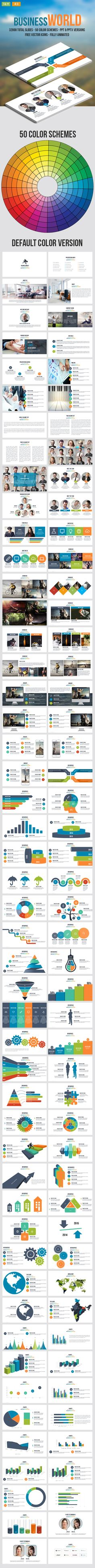 Business World  Multipurpose Powerpoint Template — Powerpoint PPT #PPT Template #medicine • Download ➝ https://graphicriver.net/item/business-world-multipurpose-powerpoint-template/18861162?ref=pxcr