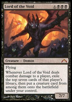 Magic the Gathering Card Reviews: Lord of the Void from Gatecrash - News - #Bubblews #mtg