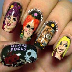 Hocus pocus nails