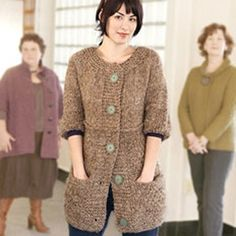 1000+ images about Plus size knitting and crochet patterns on Pinterest Plu...