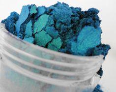 Crush blauw groene minerale make-up oogschaduw 5g Sifter Vegan oogschaduw Duo Chrome natuurlijke Eyeliner lage Sparkle lage glans monster zeemeermin ogen